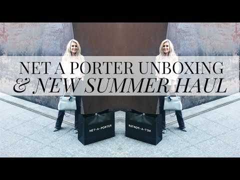NET A PORTER UNBOXING & SUMMER HAUL | IAM CHOUQUETTE | LUXURY HAUL