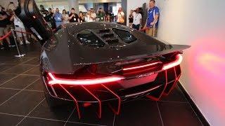 LOUD cold-start $2.5M Lamborghini Centenario with REVS