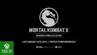 Mortal Kombat X Season 2 Finals Trailer