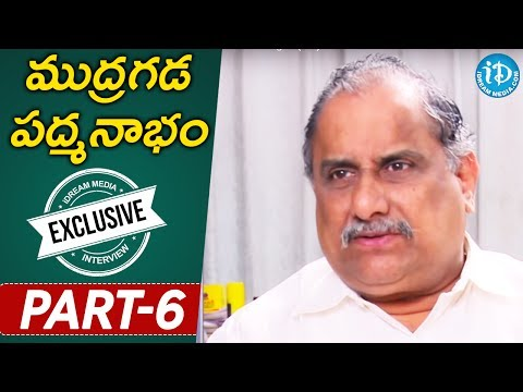 Mudragada Padmanabham Interview || Part - 6 || Indian Political League (IPL) With iDream