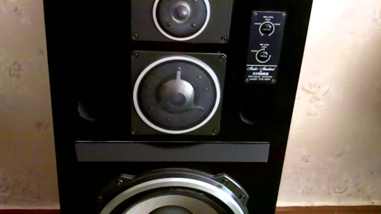 Fisher STE-1200 - YouTube