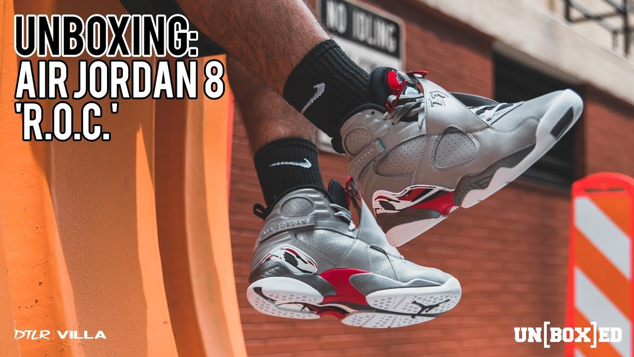 5d96c12dfc4 UNBOXED Episode 59: Air Jordan 8 'Reflections of a Champion' | The Lifestyle
