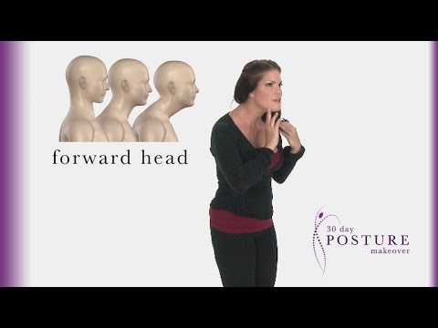 Forward Head Posture - 30 Day Posture Makeover