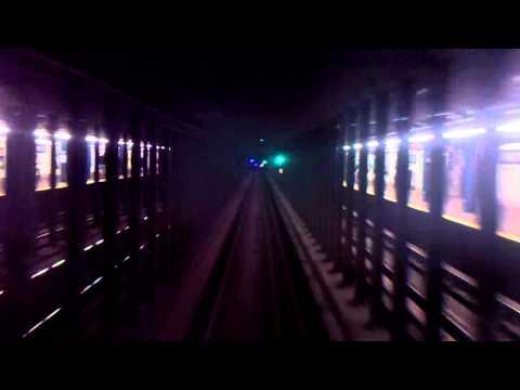 IND 8th Avenue/Fulton Street Line: RFW R32 A Express Train Ride to Lefferts Boulevard