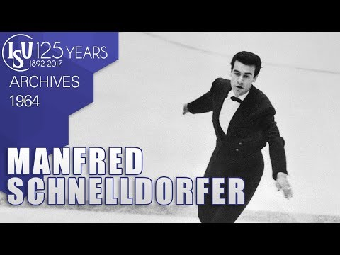 Manfred Schnelldorfer (GER) - World Figure Skating Championships Dortmund 1964 - ISU Archives