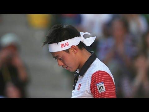 Четвертая ракетка US Open Нисикори проиграл Перу в первом круге. Новости 1 сен 12:49