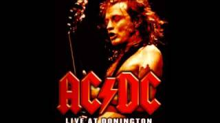 AC/DC - Shoot To Thrill Live backing track (rhythm guitar)