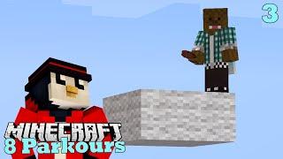 Minecraft   Around Minecraft in 8 Parkours   w/ iRaphahell #3