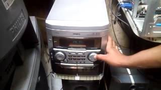 Teste aparelho de som philips