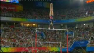 Nastia Liukin 2008 Olympics Uneven Bars Event Final