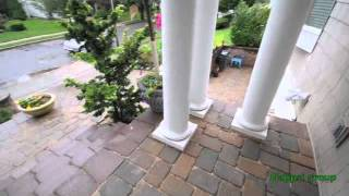 Front Door Steps And Platforms-nicolock Walls & Pavers Installation631 543-1177 Long Island Gappsi