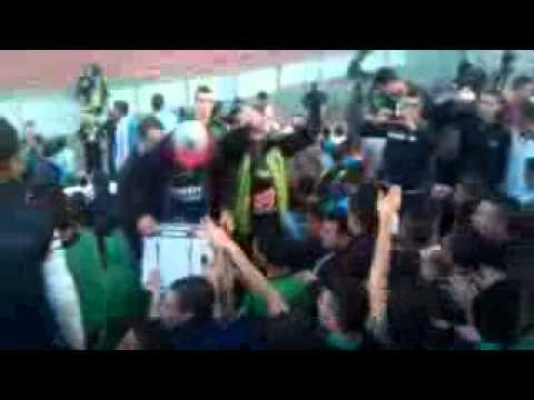 csc ambiance a hamlawi stadium a l'americaine sud إلتراس جزائرية