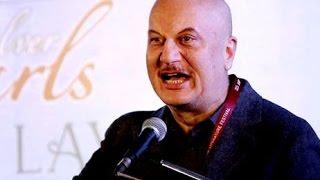 anupam kher shocked everybody uses raw abusive slang language at jaipur literature festival 2016