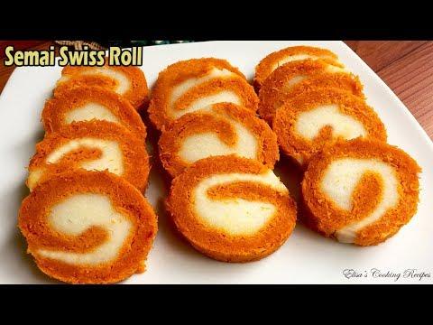 ঈদ স্পেশাল সেমাই সুইস রোল । Semai swiss roll recipe । Swiss Desserts । Semai recipe Bangladeshi