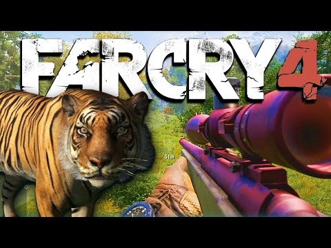 Thumbnail: Far Cry 4 Funny Adventures Ep. 1 - Tigers, Snakes, Whirly Bird, and More! (FC4 Funny Moments)