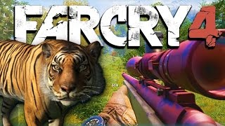 Far Cry 4 Funny Adventures Ep. 1 - Tigers, Snakes, Whirly Bird, and More! (FC4 Funny Moments)