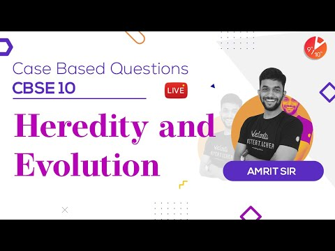 Heredity and Evolution - Case Based Questions | CBSE Class 10 Science Chapter 9 | Vedantu 9 and 10