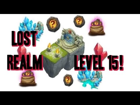 Castle Clash Lost Realm Lvl 15