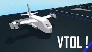 Roblox Plane Crazy VTOL creation Review + Tutor!