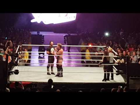 """Chris Jericho and Seth Rollins are """"Wankers"""" Melbourne Live Event 11/08/16"""