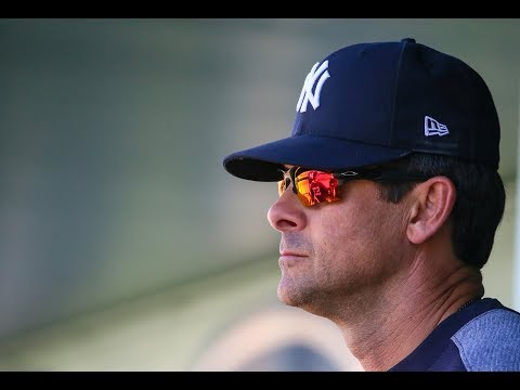 1st impressions of Yankees' Aaron Boone