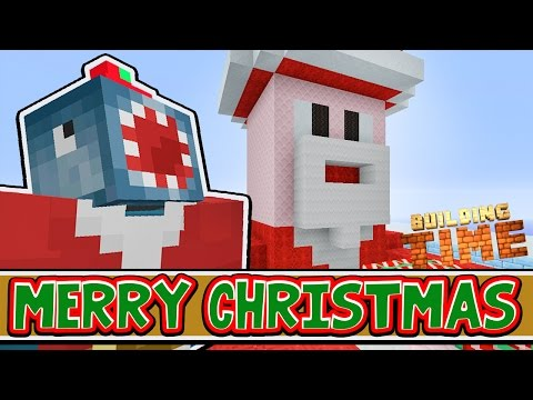 Minecraft Xbox - SANTA'S DEN! (Part 1) - Building Time! [#66]