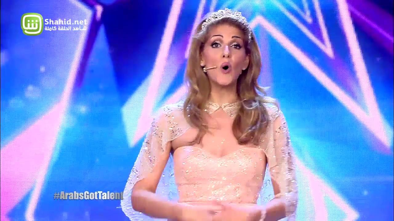 Arabs Got Talent - مرحلة تجارب الاداء – فلسطين-الاردن– نورا ناش