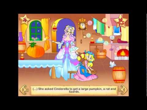 The fairytale of Cinderella - Interactive Book for Kids (on iPad, iPhone & Android)