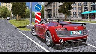City Car Driving 1.5.5 - Audi R8 GT Spyder V10 FSI | + Download [ LINK ] | 1080p & G27