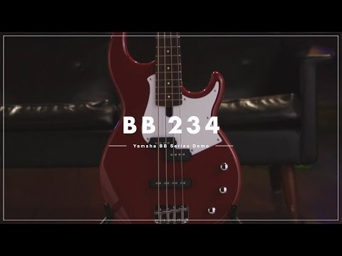 Yamaha BB234 Bass Guitar - Vintage White