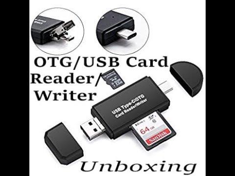 Otg Usb Card Reader Writer Review Youtube