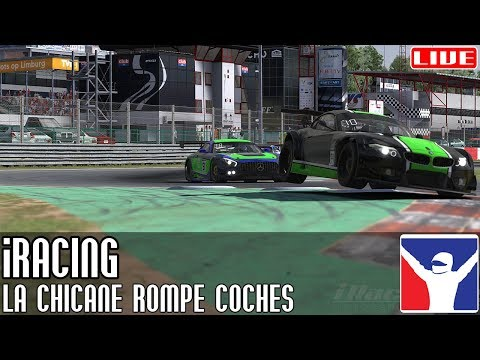 iRacing || La chicane rompe coches (GT3 @ Zolder)