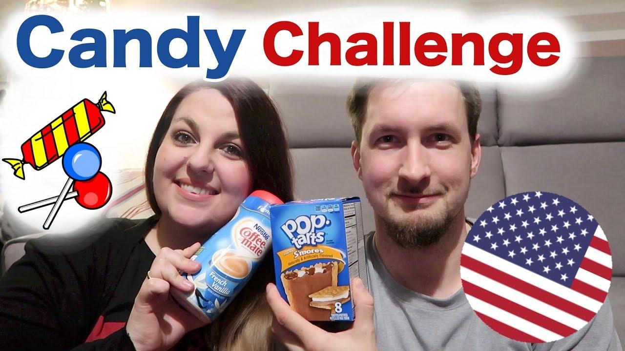 USA Candy Challenge 🇺🇸 | original amerikanische Süßigkeiten ...