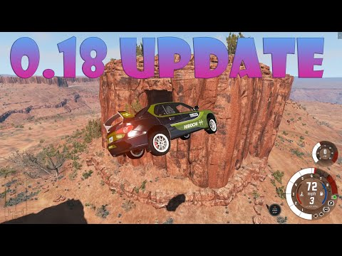 BeamNG.drive v0.18 Update - Utah Map Overhaul, New Sounds, Vehicle Improvements & More