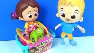 Niloyanın Piknik Sepeti hamur set oyuncak ile Johny johny yes papa Niloya Mete Tospik piknik sepeti