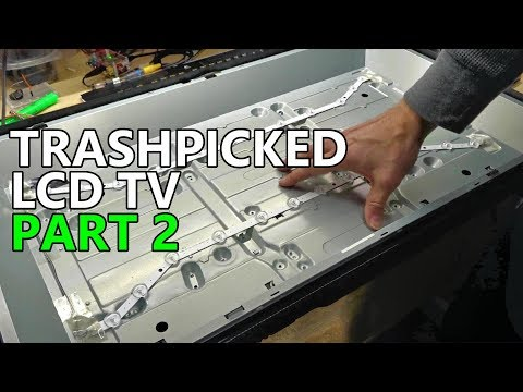 Trashpicked Samsung LCD TV Part 2: New LED Modules