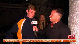 Sunrise Broadcasts Live from Pentridge Interview 3
