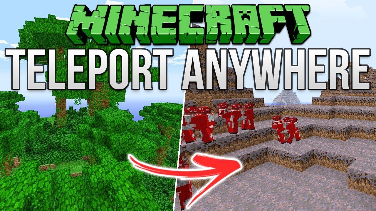 Minecraft Teleport Anywhere Exploit Tutorial YouTube - Minecraft single player teleport to coordinates