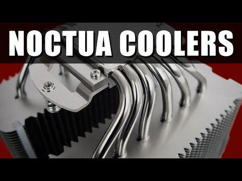 Noctua NH-U12S, NH-U14S and NH-D14 CPU Coolers Review