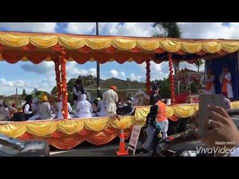 vaisakhi nagar kirtan in manurewa  new zealand