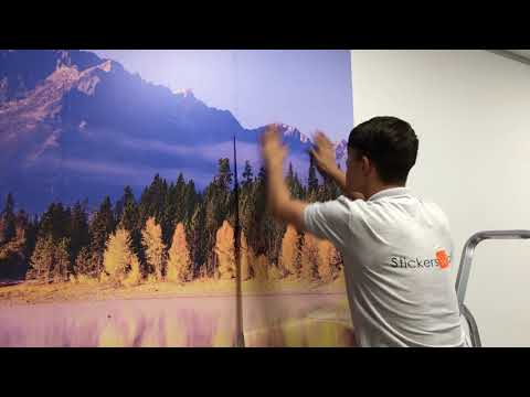 how-to-apply-wall-murals