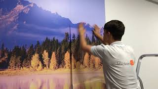 How To Apply Wall Murals
