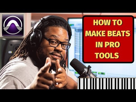 Can I make beats in Pro tools? Of course you can!