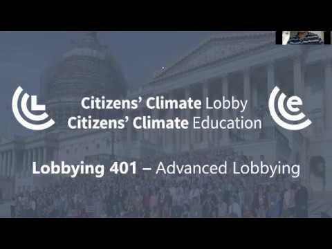 Lobbying 401  - Advanced Lobbying