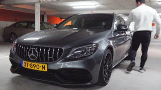 2020 Mercedes C63 s AMG Estate - FULL Review BRUTAL EXHAUST