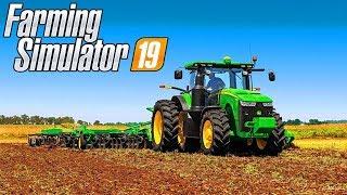 ✔️СТРІМ Farming Simulator 19 - FS 19✔️ПЕРШЕ ЗНАЙОМСТВО З ГРОЮ. НАЛАШТУВАННЯ. НАВЧАННЯ✔️#001
