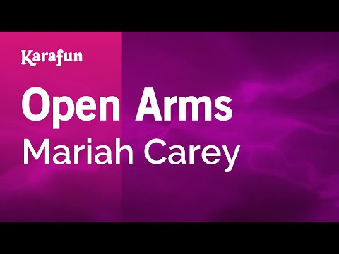 Karaoke Open Arms  Mariah Carey *