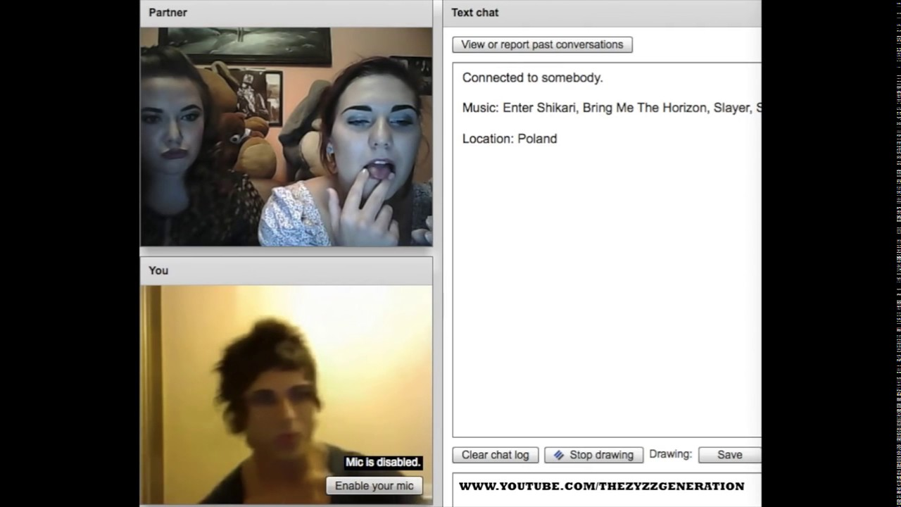 ZYZZ CHATROULETTE #11 GIRLS ONLY - YouTube