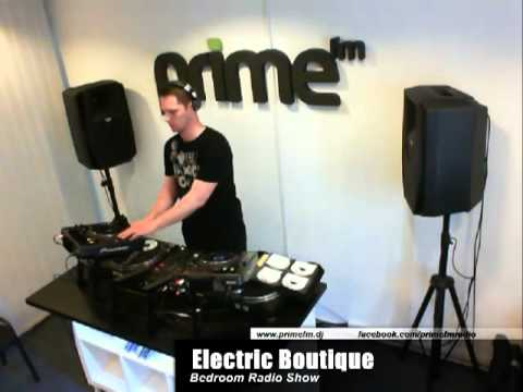 Prime FM live - Bedroom Radio Show - Electric Boutique 2012.04.17.