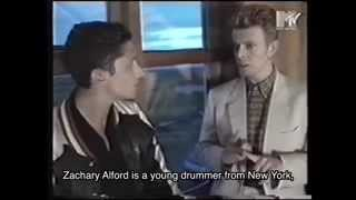 David Bowie MTV interview during Reykjavik Arts Festival 1996. Resimi